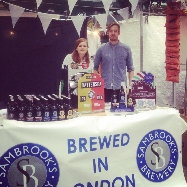 Sambrook's Brewery at London Brewers' Market