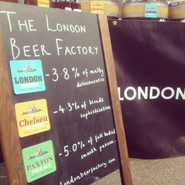 The London Beer Factory at London Brewers Market
