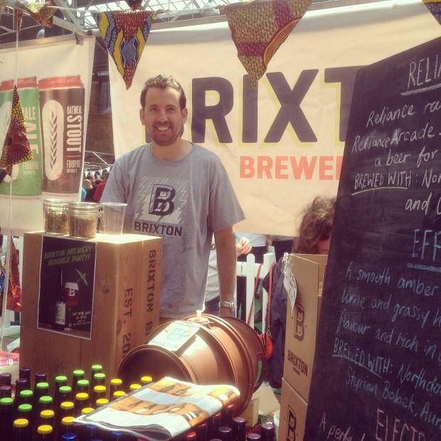 Brixton Brewery LBM July 2014