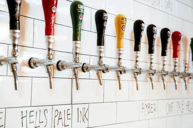 Camden Town Brewery Taps