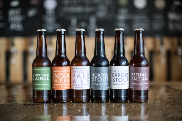 Redchurch Brewery bottles