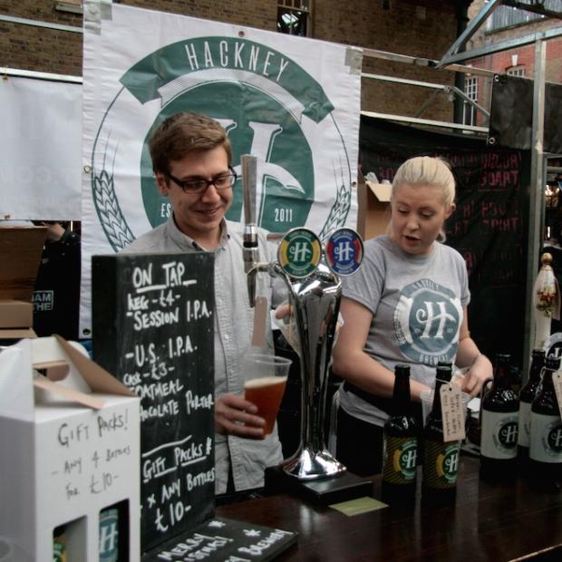 Jack Landridge at Hackney Brewery