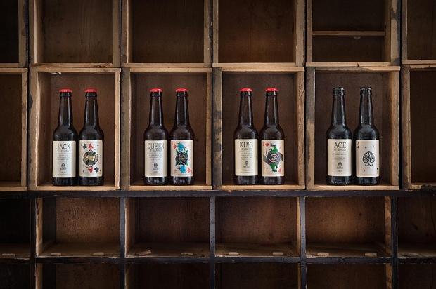 Wild Card Brewery bottles