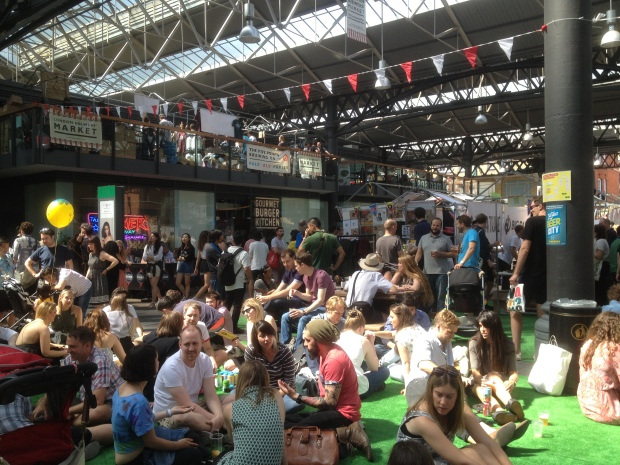 London Brewers' Market Beer Garden July 2015