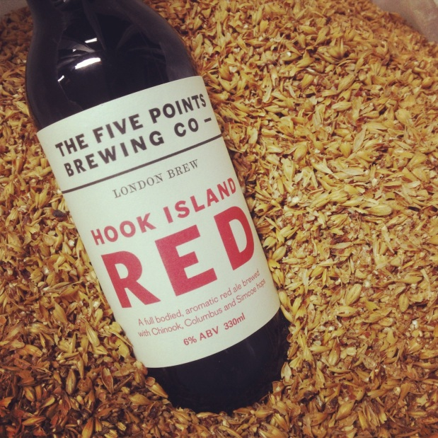 Hook Island Red in malt