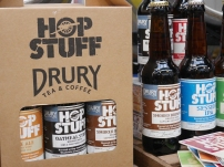 Hop Stuff Drury Tea & Coffee beers