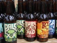 Howling Hops bottles