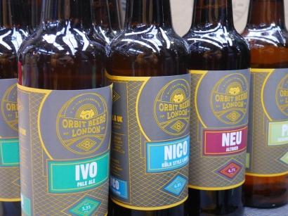 Orbit Beers bottles