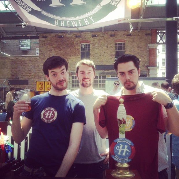 Hackney Brewery LBM July 2014
