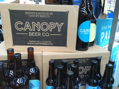 Canopy Beer Co bottles copy
